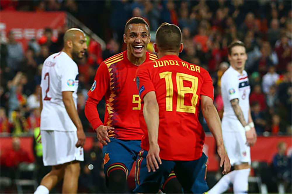 Tây Ban Nha, Na Uy, vòng loại Euro 2020