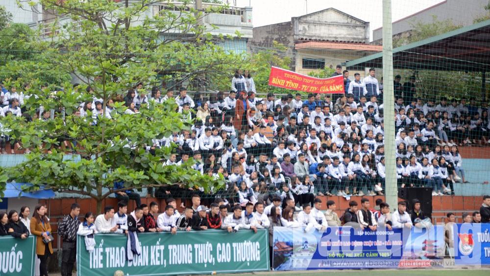 Bóng đá nam, học sinh THPT, Lục Ngạn số 1, vô địch