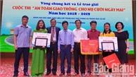 """Bắc Giang có 2 cá nhân giành giải Nhất toàn quốc cuộc thi """"An toàn giao thông cho nụ cười ngày mai"""""""