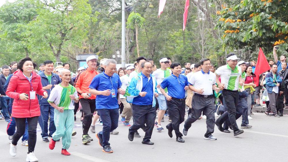 Ngày Thể thao Việt Nam 27-3, phát động, hưởng ứng, Ngày chạy Olympic vì sức khỏe toàn dân năm 2019