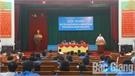 Tiếp xúc, đối thoại với cán bộ, đoàn viên thanh niên huyện Hiệp Hòa