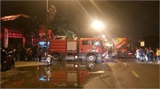 Hà Nội: Cứu hộ 5 người trong vụ hỏa hoạn tại huyện Phú Xuyên