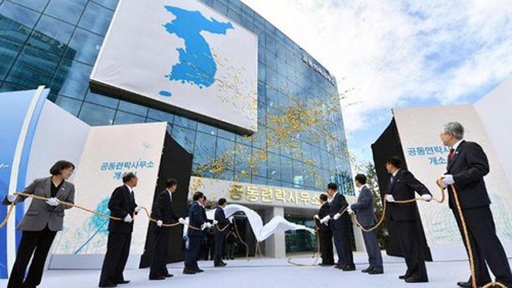 Một số nhân viên Triều Tiên trở lại làm việc tại Văn phòng liên lạc liên Triều