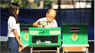 Bầu cử Thái Lan: Đảng Vì nước Thái đang dẫn đầu