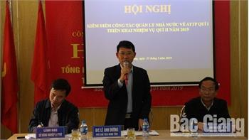 Phó Chủ tịch UBND tỉnh Lê Ánh Dương: Tập trung cao cho công tác tuyên truyền về an toàn thực phẩm