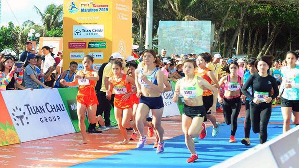Nguyen Thi Oanh, Bac Giang province, gold medal, Tien Phong Marathon 2019, Ba Ria – Vung Tau, good preparation, national veteran athlete