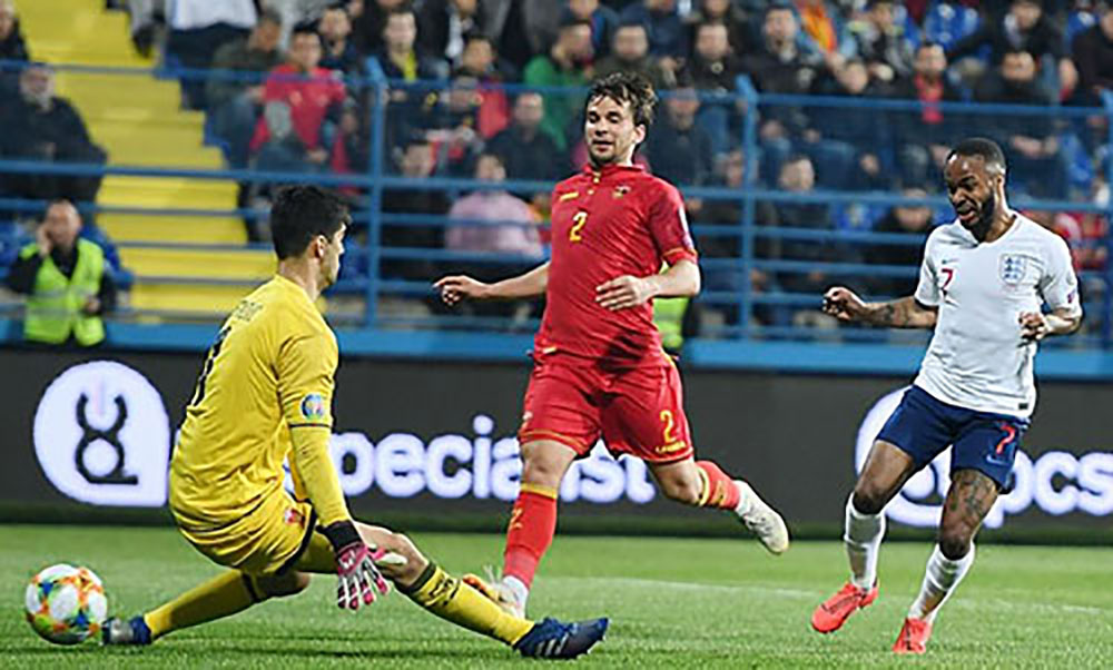 Anh, Montenegro, vòng loại Euro 2020