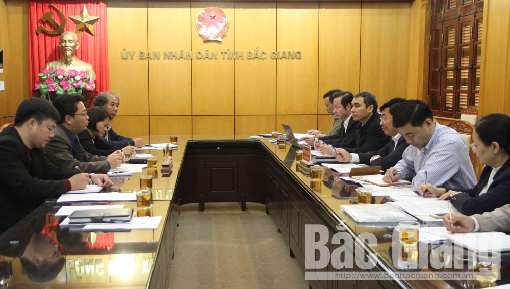 Bac Giang province, feasibility project, organic agricultural production, Applied Technology, Agricultural Development, various agricultural products, socio-economic development, detailed roadmap