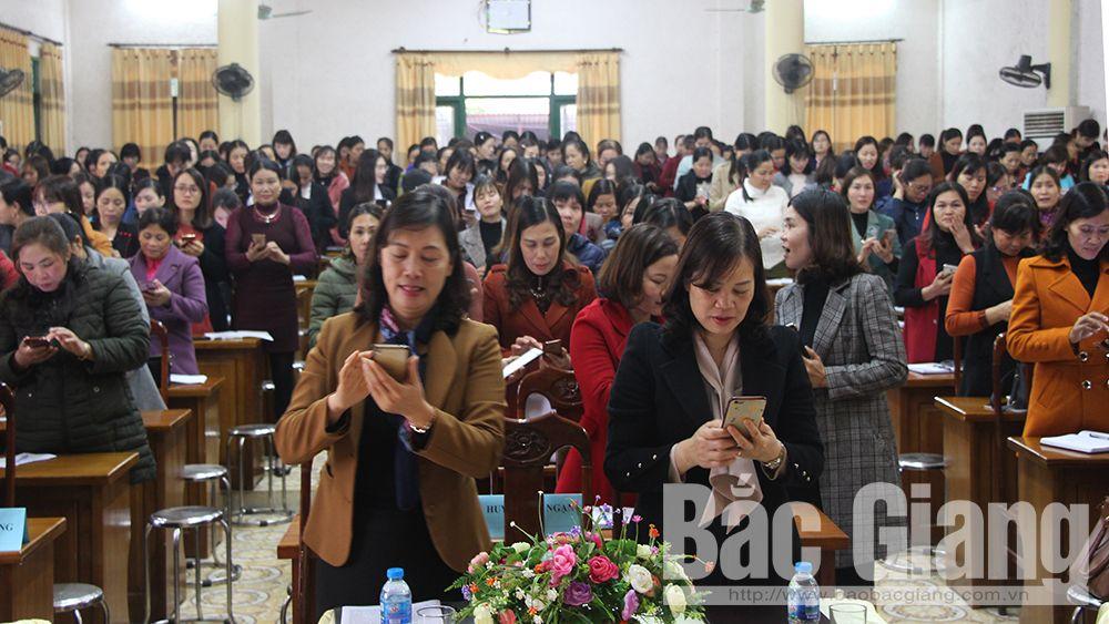 Bắc Giang, phụ nữ, an toàn với phụ nữ và trẻ em, biên cương, đồng hành, Nguyễn Thị Liên