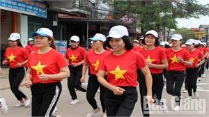 Hiệp Hòa phát động Ngày chạy Olympic vì sức khỏe toàn dân năm 2019
