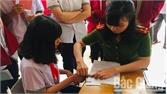Cấp mới chứng minh nhân dân lưu động cho học sinh