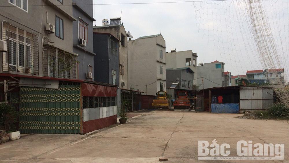 Thành phố Bắc Giang: Hộ dân vẫn tiếp tục lấn chiếm đất công