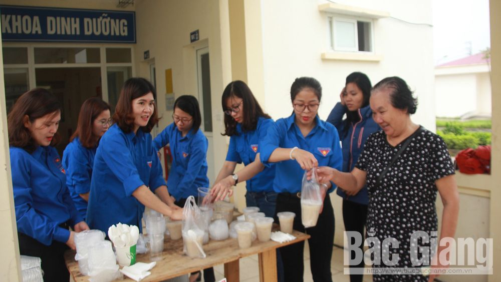 Bac Giang province, nice actions, Two good deeds, Youth Union, community and society, volunteer for community life,  healthy lifestyle
