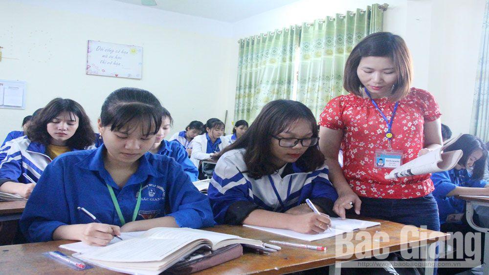 giáo dục, học sinh, Bắc Giang, kỳ thi THPT, Sở Giáo dục và Đào tạo, kỳ thi