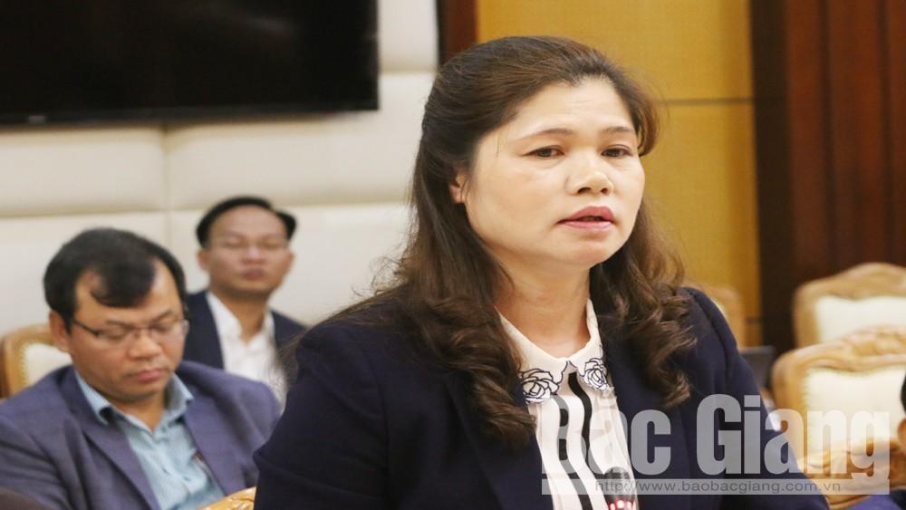 Thường trực Tỉnh ủy, Bắc Giang, giao ban quý 1-2019