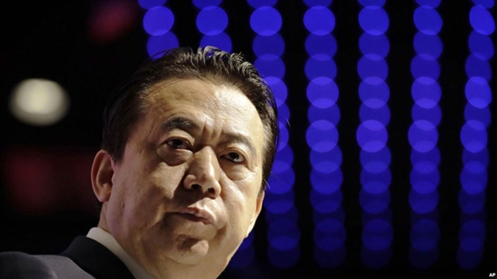 Trung Quốc: Cựu Chủ tịch Interpol bị truy tố vì nhận hối lộ