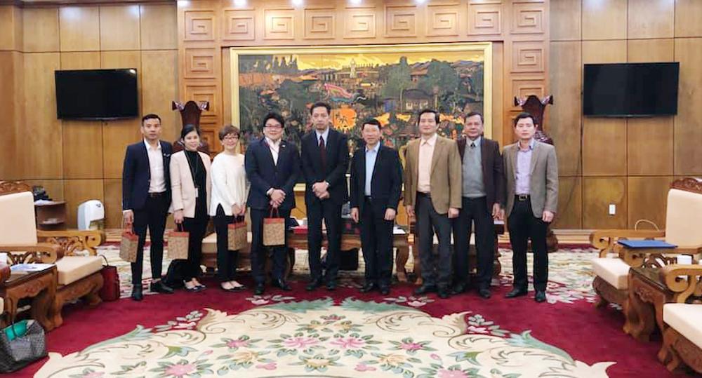 Provincial leader welcomes Japanese Group Morinomiya