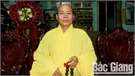 Thượng tọa Thích Thiện Văn, Trưởng Ban Trị sự Giáo hội Phật giáo tỉnh Bắc Giang: Người đi lễ cần lấy sự thành tâm làm đầu