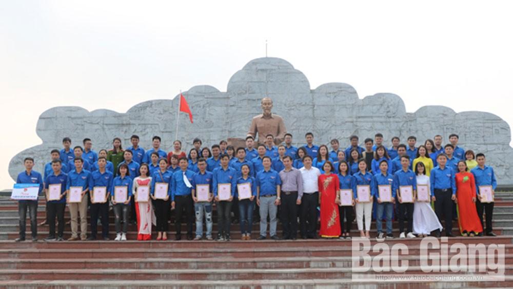 Thành đoàn, Bắc Giang nhiều hoạt động, sôi nổi, trong tháng thanh niên