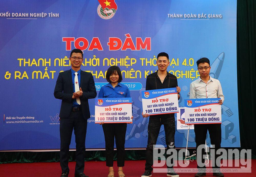 Bắc Giang, doanh nghiệp, thanh niên khởi nghiệp,câu lạc bộ thanh niên khởi nghiệp