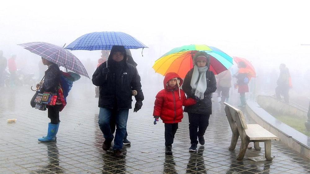 Nhiều khu vực ở Bắc Bộ khả năng cao có lốc, sét, mưa đá