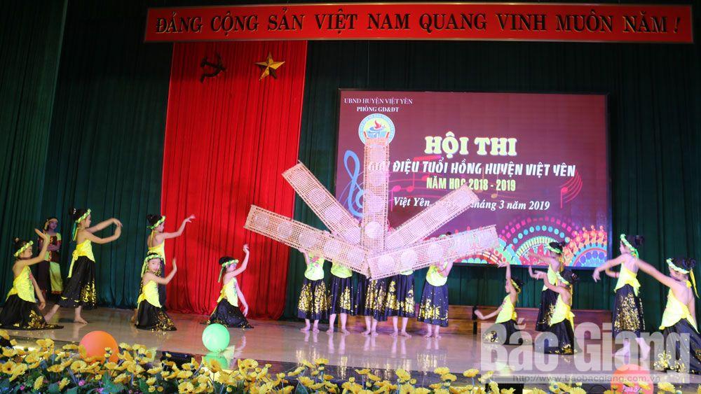 Hội thi giai điệu tuổi hồng huyện Việt Yên