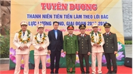 Bắc Giang có 4 cán bộ, chiến sĩ được tuyên dương thanh niên tiên tiến, tiêu biểu toàn quốc