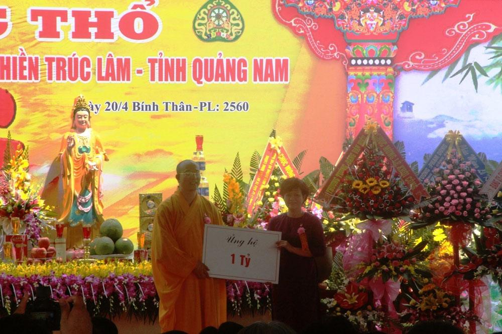 chùa Ba Vàng, Quảng Ninh, Thích Trúc Thái Minh, khởi công, chưa xây