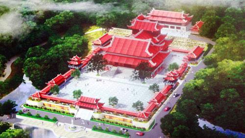 """Còn một chùa Ba Vàng liên quan đến sư Thích Trúc Thái Minh """"khởi công đã lâu nhưng chưa xây"""" (?!)"""