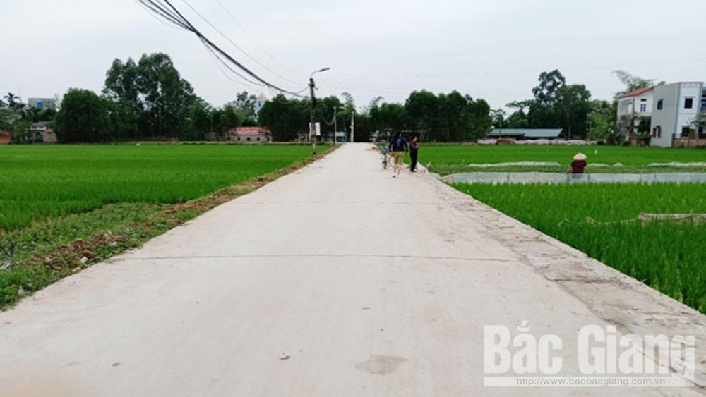 Thôn Đồng Quan, sắp hoàn thành, 7 tiêu chí mô hình, nông thôn kiểu mẫu