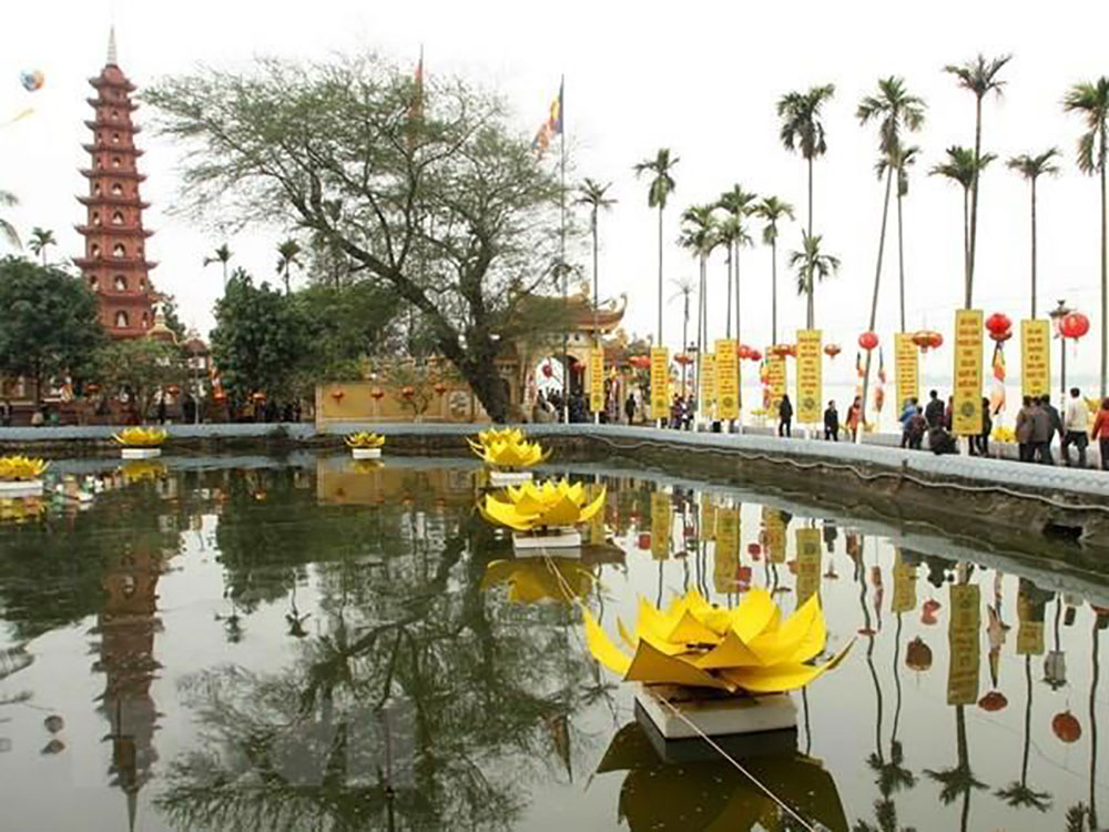 Chùa Trấn Quốc, Hà Nội, chùa đẹp nhất thế giới