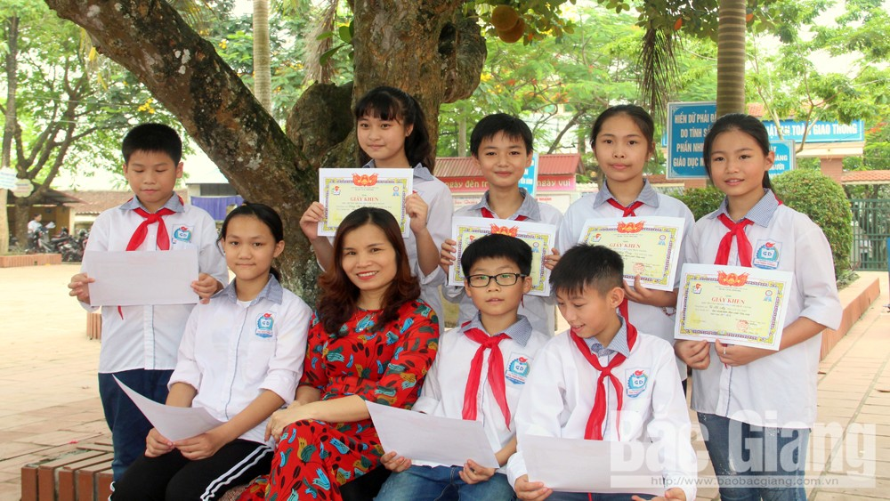 Hiệp Hòa dẫn đầu kỳ thi chọn học sinh giỏi văn hóa cấp tỉnh bậc Trung học