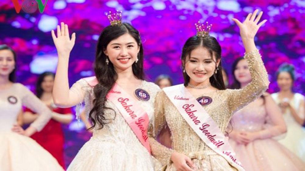 Goodwill ambassador, Japanese cheery blossom, Tran Dieu Anh, Vietnam-Japan University, flight attendant, national flag carrier Vietnam Airlines