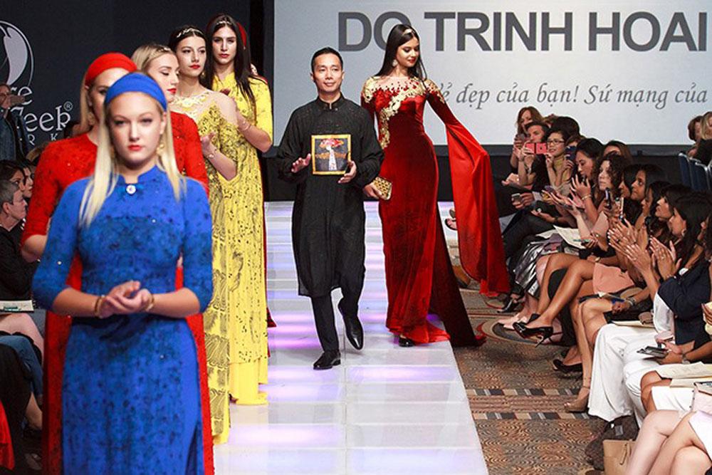 Designer Do Trinh Hoai Nam, journey with Ao Dai, Hanoi-based designer, Vietnamese Ao Dai Club, (traditional Vietnamese long dresses