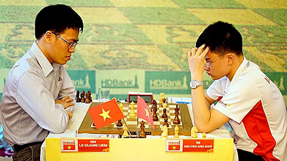 Anh Khôi đạt chuẩn Đại kiện tướng nhờ thắng Quang Liêm