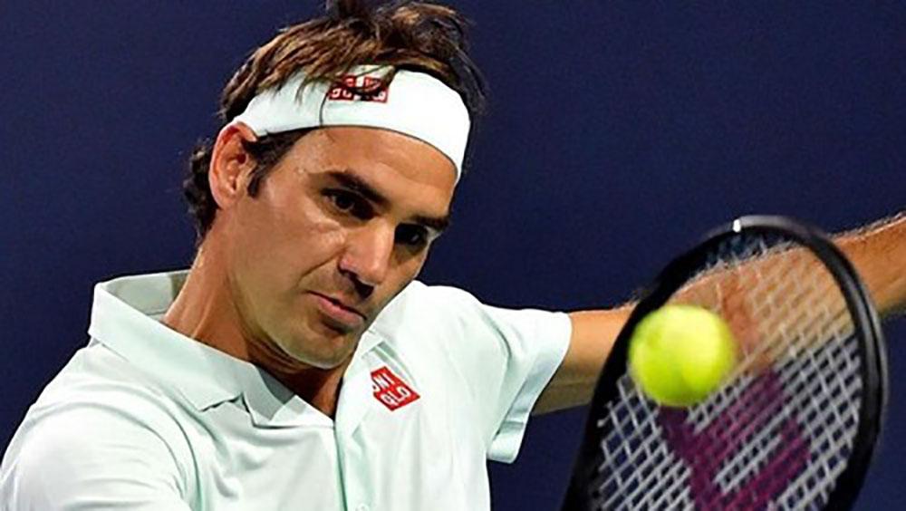 Federer vào chung kết Miami Mở rộng