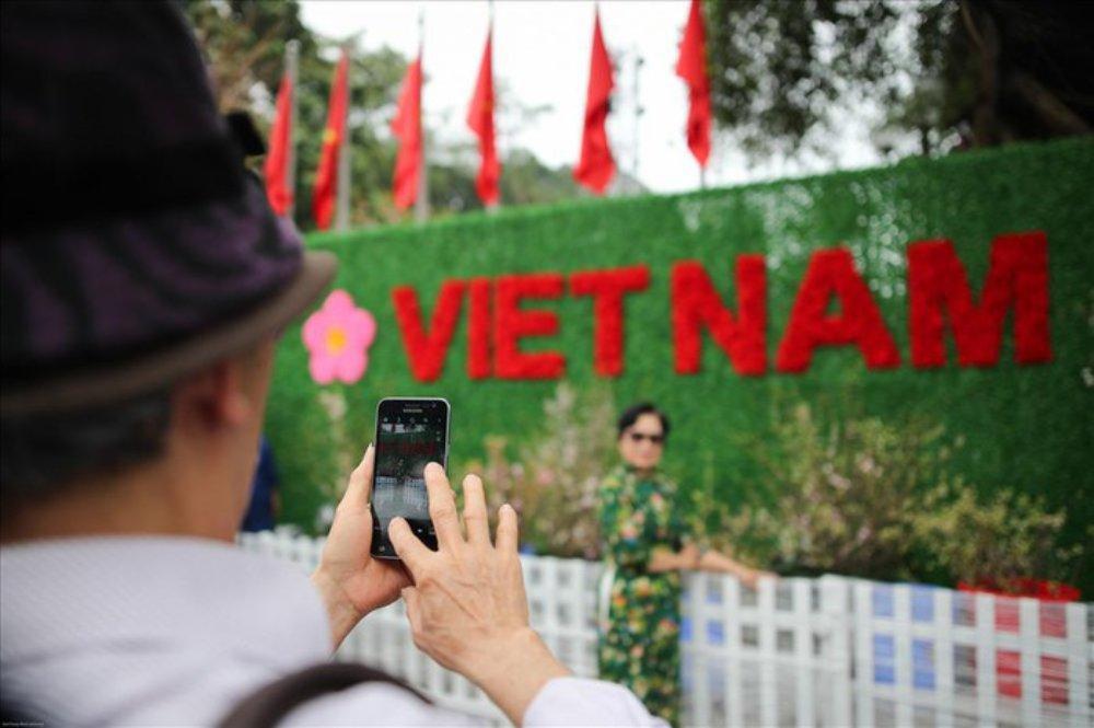 Lễ hội hoa anh đào 2019, Nhật Bản, người dân, du khách, Hà Nội