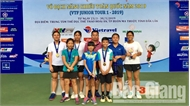 Đội tuyển quần vợt Bắc Giang thi đấu xuất sắc tại giải vô địch năng khiếu toàn quốc