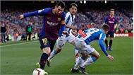 Messi lập cú đúp, Barca tiến gần đến ngôi báu La Liga