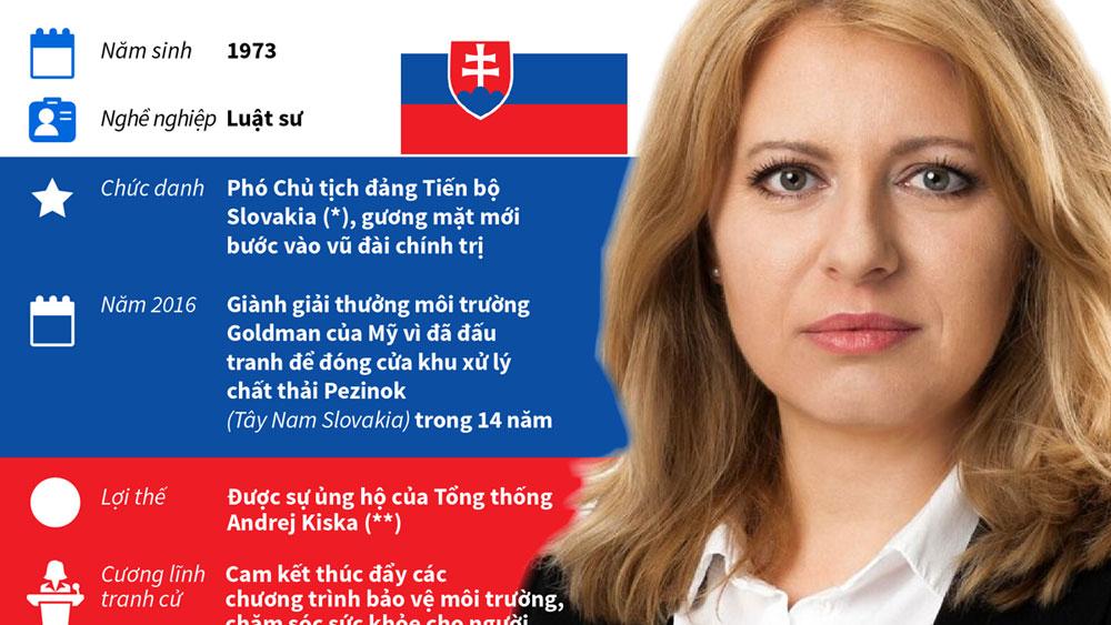 Chân dung nữ Tổng thống đầu tiên của Slovakia