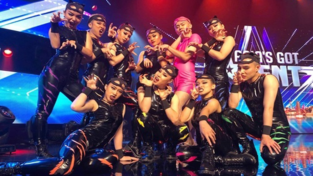 Hanoi X-Girls seek votes for Asia's Got Talent final berth
