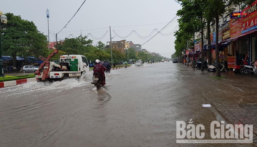 mưa lớn, ngập, TP Bắc Giang, tỉnh Bắc Giang