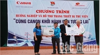 """Gần 2 nghìn học sinh tham dự chương trình """"Cùng Cannon khởi hành tới tương lai"""" năm 2019"""