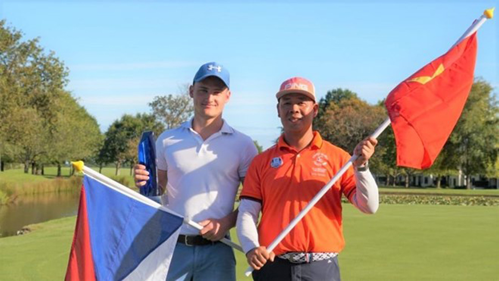 Vietnamese golfer finishes runner-up at Volvo World Challenge 2019
