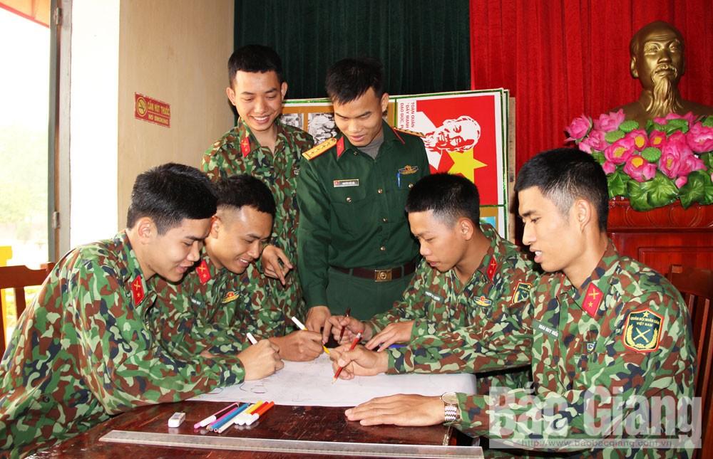 Bắc Giang, Tháng thanh niên, quân đội, pháp luật, cán bộ, chiến sĩ