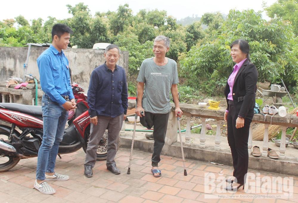 Lục Ngạn, Bắc Giang, người có công,  thoát nghèo