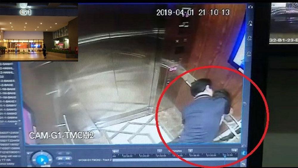 Công an vào cuộc, điều tra vụ bé gái bị sàm sỡ, ôm hôn trong thang máy,
