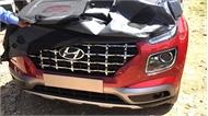 Hyundai Venue hé lộ phong cách giống Santa Fe