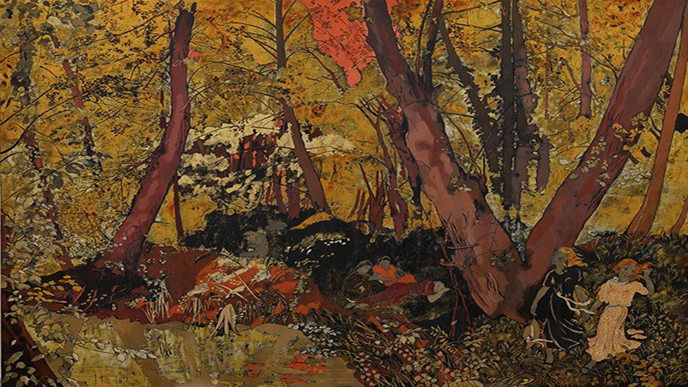 Vietnamese-style lacquer paintings auctioned at Sotheby's Hong Kong