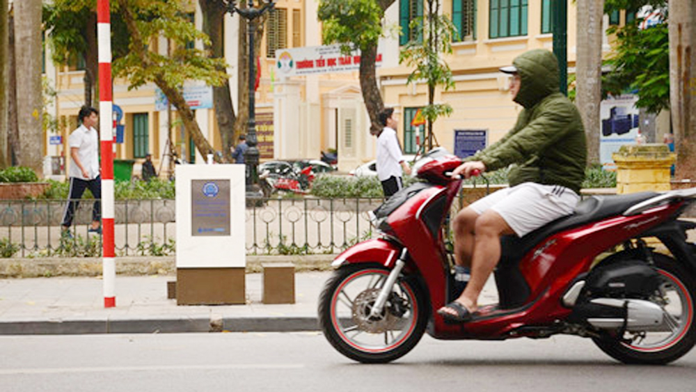 Drinking water taps installed in Hanoi's centre